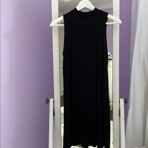 TOPSHOP Mock Neck Dress